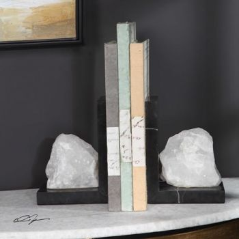 Quartz Bookends (Per Piece)