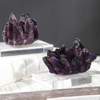 Amethyst Clusters Sculpt small size